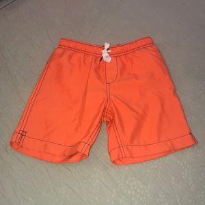 Lands End swim shorts size 5-6
